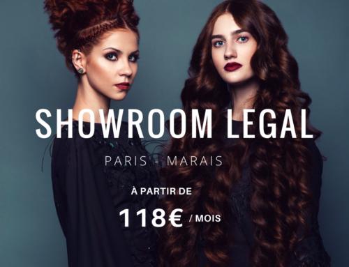 Votre showroom pro dans le marais dès 118 € par mois.